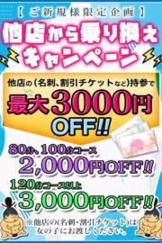 新規様 限定割引!!  厚木ちゃんこ初めての利用で 新規様割引!! 最大3000円